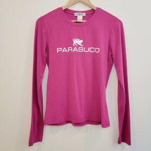 Parasuco – Long sleeve t-shirt – Pink - Large